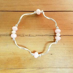 handmade Jewelry - 💛 2 for $3 Unique handmade stretchy bracelet